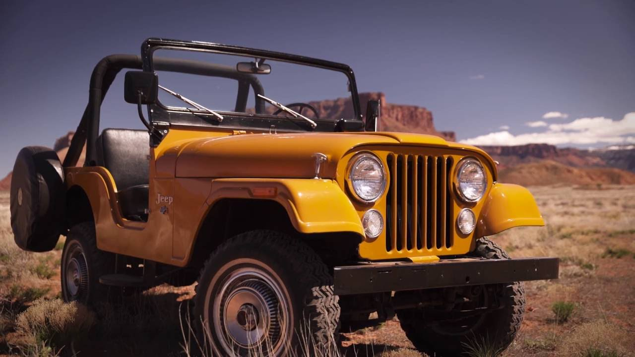jeep history 1954 1983 jeep cj5 youtube. Black Bedroom Furniture Sets. Home Design Ideas