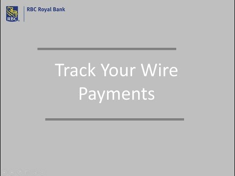 Track Your Wire Payments