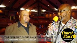 "FRED THOMAS | ""TALKS COMEDY & NEW DVD RECORDING"""