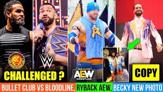 Bullet Club Vs Bloodline Seth Rollins Young Bucks Becky Lynch Lashley Vs Mcintyre HIAC