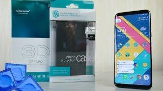 Защитное стекло и чехол для Samsung Galaxy S8 от Nillkin (лучшая защита)(, 2017-06-06T17:00:00.000Z)