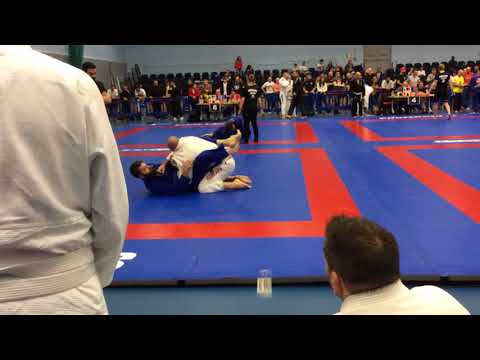 Anthony Davies National Masters Super heavyweight 2017 semi final