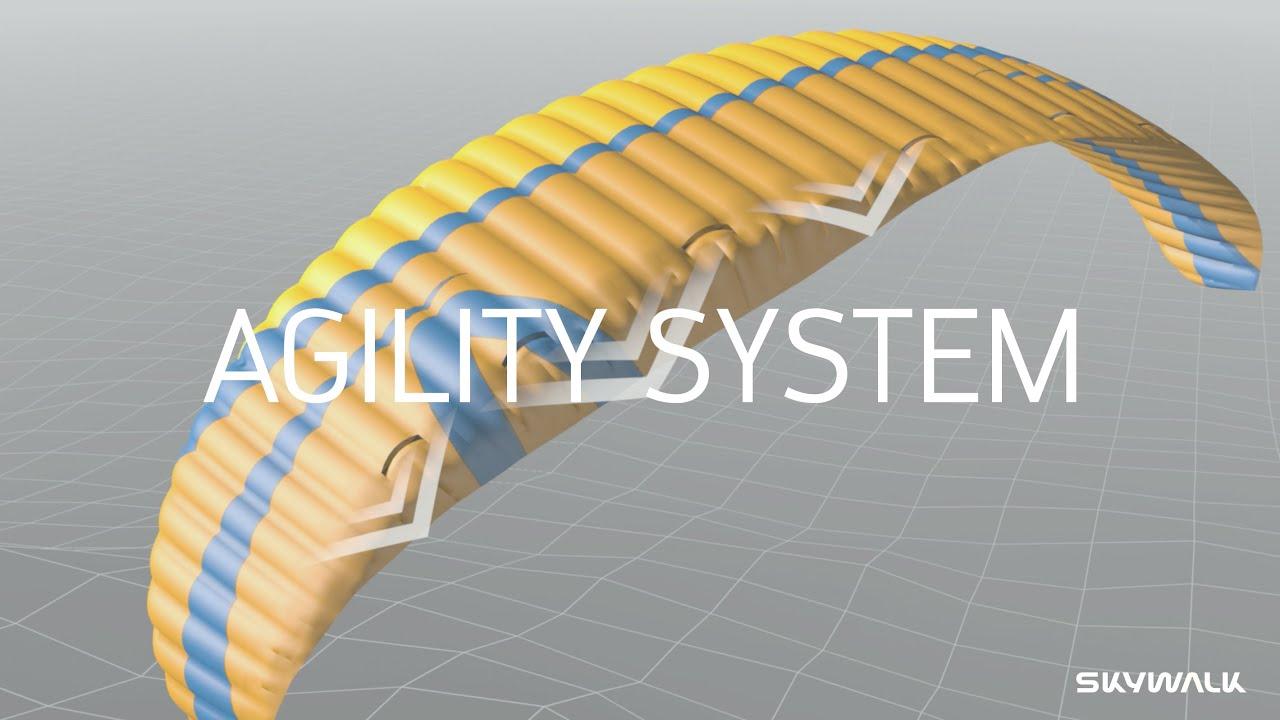 skywalk paragliders - AGILITY SYSTEM