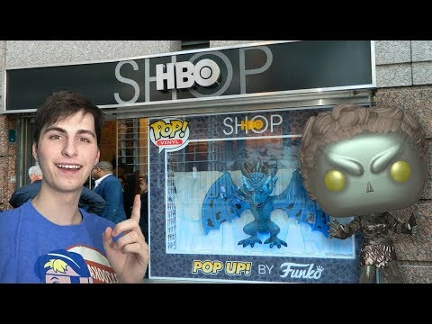 HBO Funko Pop up Shop Hunting in NYC!