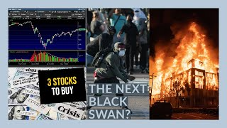 THE STOCK MARKET IS GOING TO GO CRAZY ON PROTESTS - My Watchlist - 3 STOCKS TO BUY NOW!