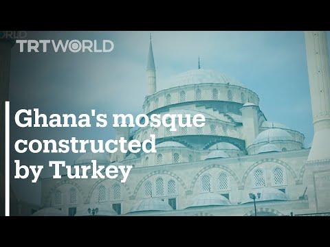 West Africa's biggest mosque opens in Ghana's capital