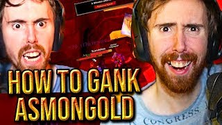 """Asmongold Can't Believe There's A """"How to Gank Asmongold"""" Guide For Classic WoW"""