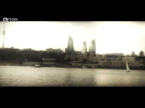 Azerbaijan Baku.View from the sea.2013 HD1080
