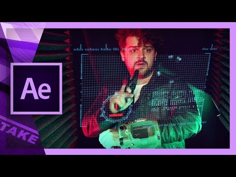 Motion Tracking in After Effects (Sci-Fi Interface