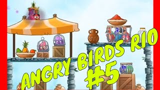ANGRY BIRD RIO BEST WAY TO FREE CAGED BIRDS Part 5 by Youngandrunnnerup