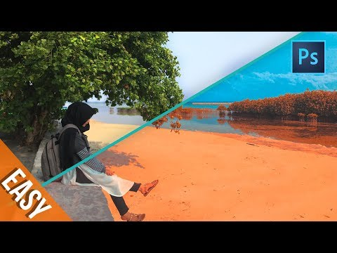 [ Photoshop Tutorials ] Get TEAL & ORANGE Color With This Trick In Photoshop