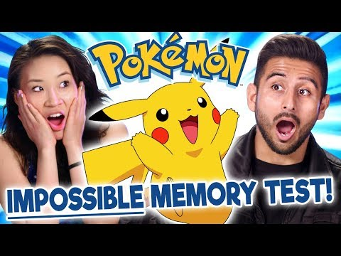 Pokémon Fans Take The Impossible Pokémon Memory Test | Too Much Information