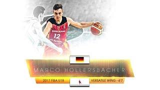 Marco Hollersbacher [2017 FIBA U18 Europe]