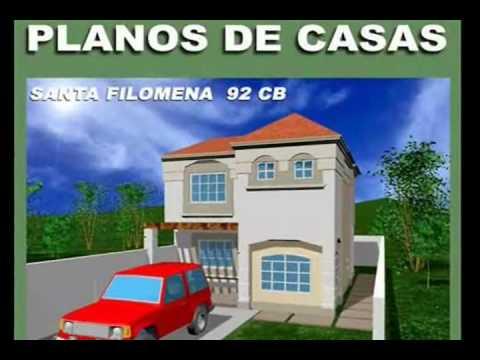 Planos de casas modelo santa filomena 92 arquimex planos for Casa moderna 7x20