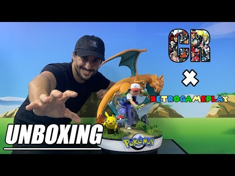 N•20 Unboxing / Review Pokemon Satoshi Team by Shark Design
