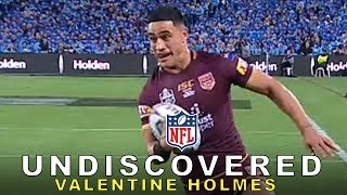 An Australian Super Star Rugby Player Tries to Make an NFL Roster: The Valentine Holmes Story