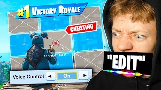 Can you Win FORTNITE, using ONLY Voice Control?