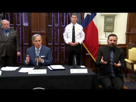 Gov. Abbott Provides Update On 3/22 On Texas' Efforts To Combat COVID-19
