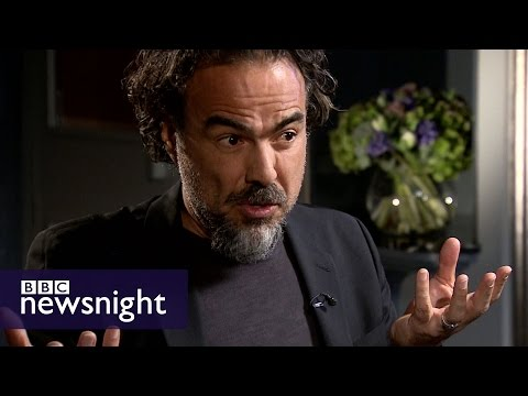Alejandro G. Inarritu says Trump's comments risk 'watering the seeds of hate' - BBC Newsnight