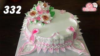 chocolate cake decorating buttercream  ( 332 ) Cách Làm Bánh Kem Đơn Giản Đẹp - Thanh Lịch ( 332 )