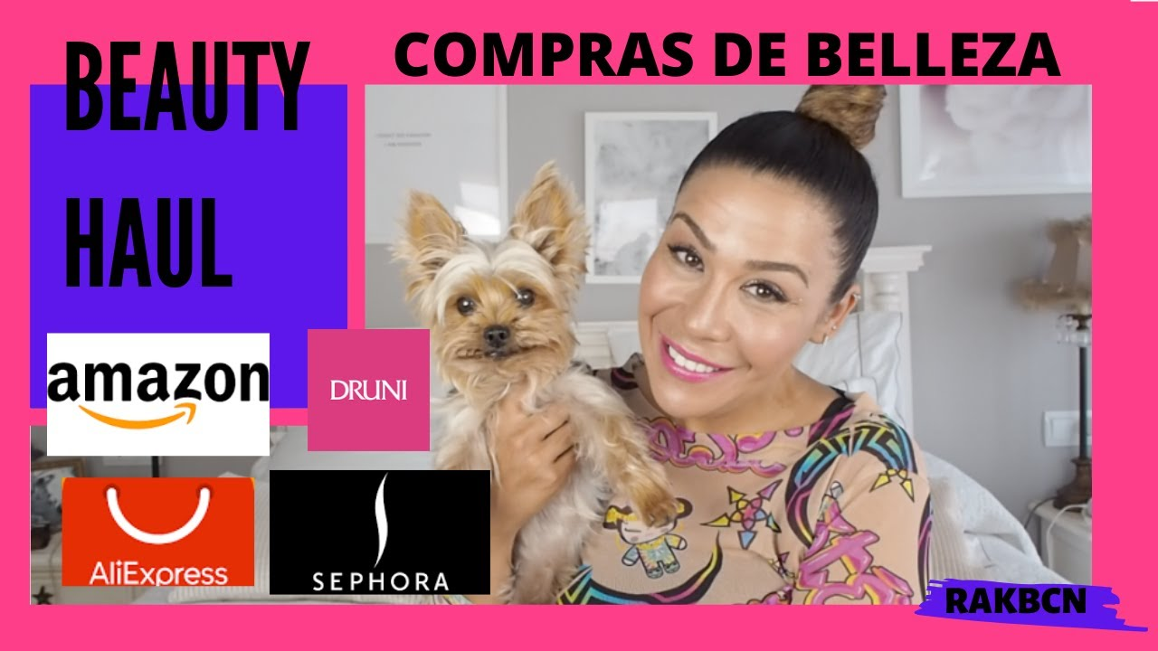 🎁 💄BEAUTY HAUL💄  🎁(Compras de Belleza: Sephora, Druni, Amazon, Aliexpress...)😛🔝