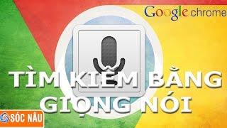 Thủ thuật Google Chrome : Tìm kiếm bằng giọng nói