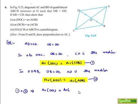 ncert solutions for class 9 maths ch 9