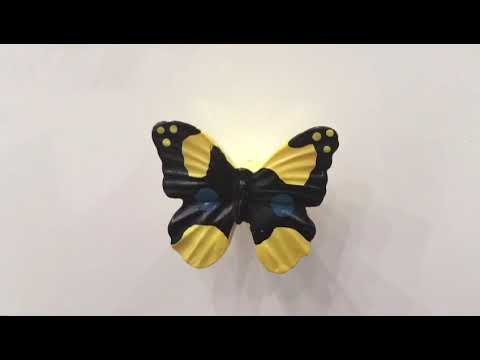 Benzoville Kids Butterfly Cabinet Knob In Multicolor From Siro