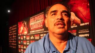 ABEL SANCHEZ (IN NEW YORK) ON GOLOVKIN v LEMEIUX, CANELO-COTTO & LEE-SAUNDERS / INTERVIEW FOR IFLTV