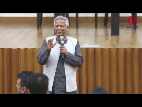Guest Lecture by Prof. Muhammad Yunus on Social Entrepreneurship
