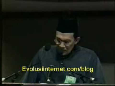Perhimpunan Agung Umno ' 97 - Anwar Ibrahim