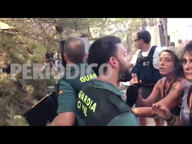Una fiesta ilegal en Ibiza acaba con disparos al aire, 73 detenidos y 13 heridos