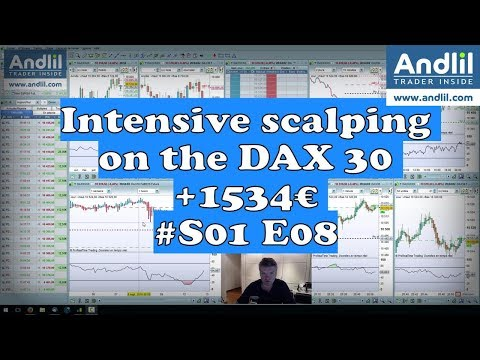Intensive scalping on the DAX 30 +1534€ #S01 E08