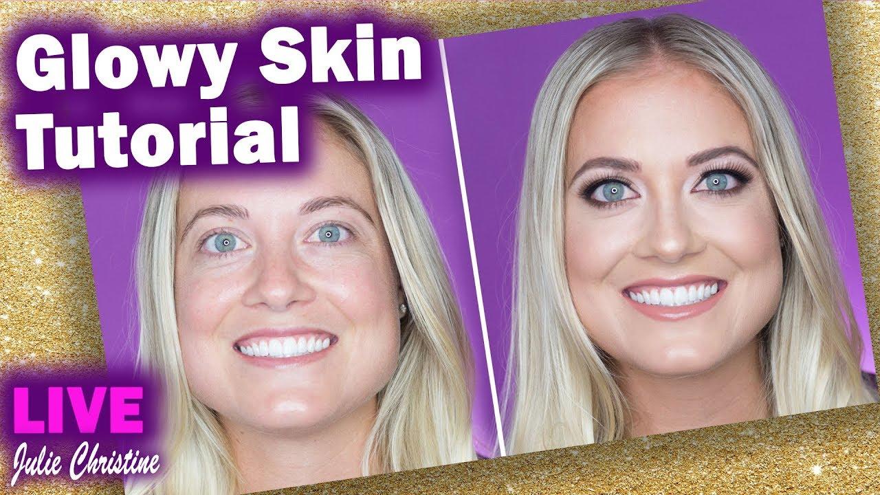 Warm Neutrals Glowy Skin Makeup Tutorial: Blonde Beauty Tips- GRWM in Real  Life