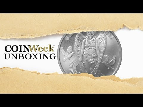 CoinWeek Unboxing: 2017 Niue Guardian Angel - Gainesville Coins Exclusive