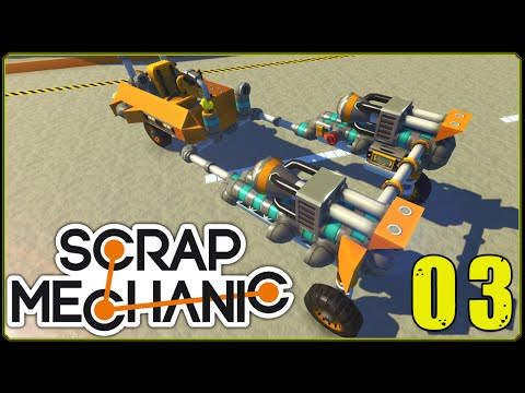 Scrap Mechanic || Scrappy Racers #3 | Starwars Podracer!