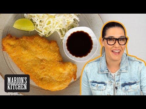 My BEST Chicken Schnitzel...super light and CRISPY 💯| Marion's Kitchen