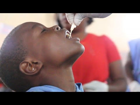 Huge cholera vaccination campaign underway in Zambia