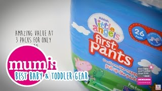 ASDA Peppa Pig First Pants shortlisted in the Mumii Best Baby & Toddler Gear Awards!