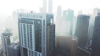 View from 51st floor The Face Suites Platinum. Kuala Lumpur   Malaysia