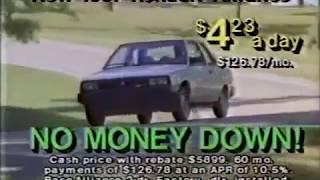 AMC Jeep Renault commercial - Chicagoland dealer - 1987