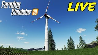 FARMING SIMULATOR 19 #107 - LA PALA EOLICA - GAMEPLAY ITA