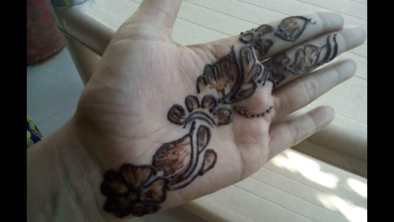 Mehndi Henna Pen : How to apply henna mehndi on hand using pen youtube
