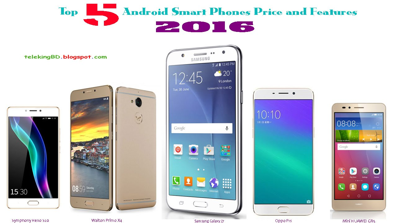 Phone Android Phones Price top 5 best android smart phones price and features in bangladesh 2016
