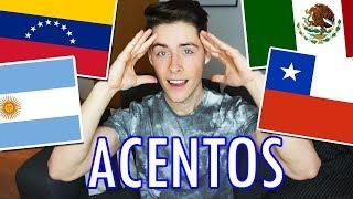 Imitando acentos LATINO AMERICANOS y ESPAÑOLES (Lo hago FATAL)