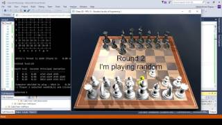 3D Chess game with AI agent