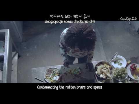 B.A.P - Wake Me Up MV [English subs + Romanization + Hangul] HD