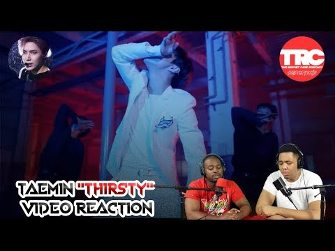 "Taemin ""Thirsty"" Music Video Reaction"