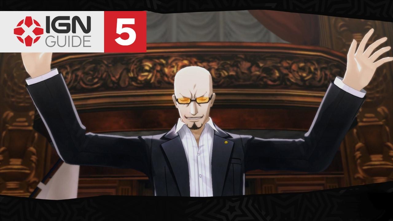 Persona 5 Walkthrough - Story Mission: Shido's Cruiser (5/15) by IGN  Walkthroughs