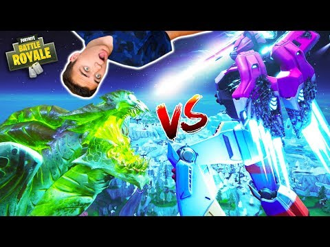 MONSTRE vs ROBOT : LE GRAND COMBAT !!! - FORTNITE BATTLE ROYALE - Néo The One
